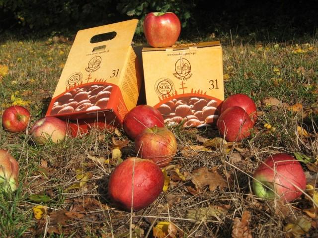 Sok jabłkowy tłoczony